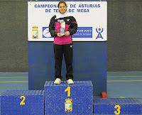 Juegos Deportivos Individuales 2013 Podio Cadete femenino