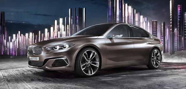 中国のリッチな若者向け?BMWがコンパクトセダンのコンセプトカーを発表。