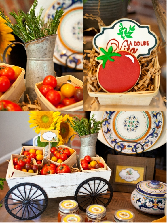 Italian Dinner Party Menu Ideas Part - 50: A Taste Of Tuscany | An Italian Fall Dinner Party - Via BirdsParty.com