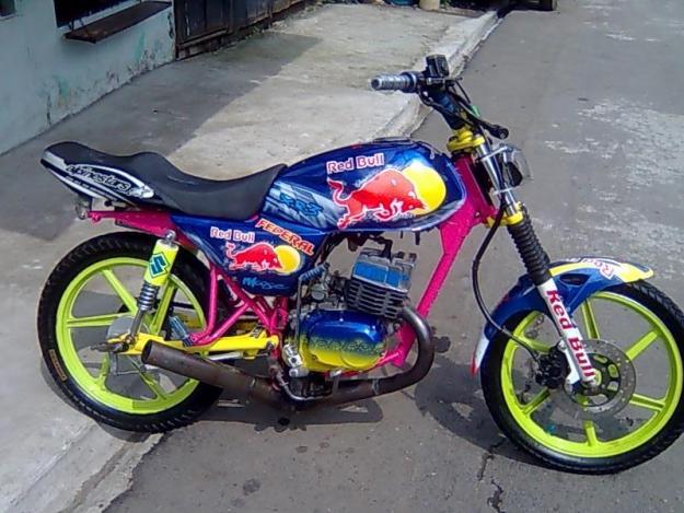 Motos ax 100 tuneadas - Imagui