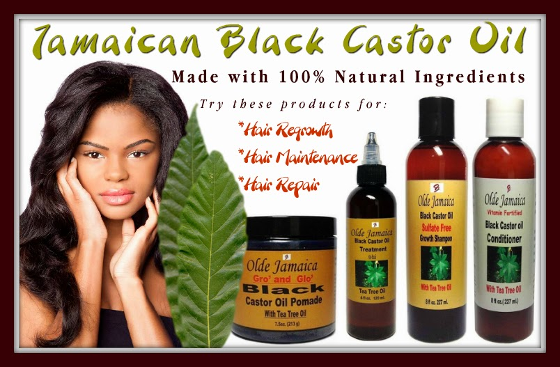 Jamaican Black Castor Oil, Hair Care Products for Regrowth, Repair & Maintenance