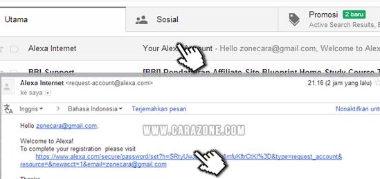 Cara Daftar Verifikasi Claim blog di Alexa Rank