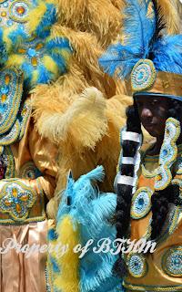 NOLA Jazz Fest 2015  mardi gras indian 3
