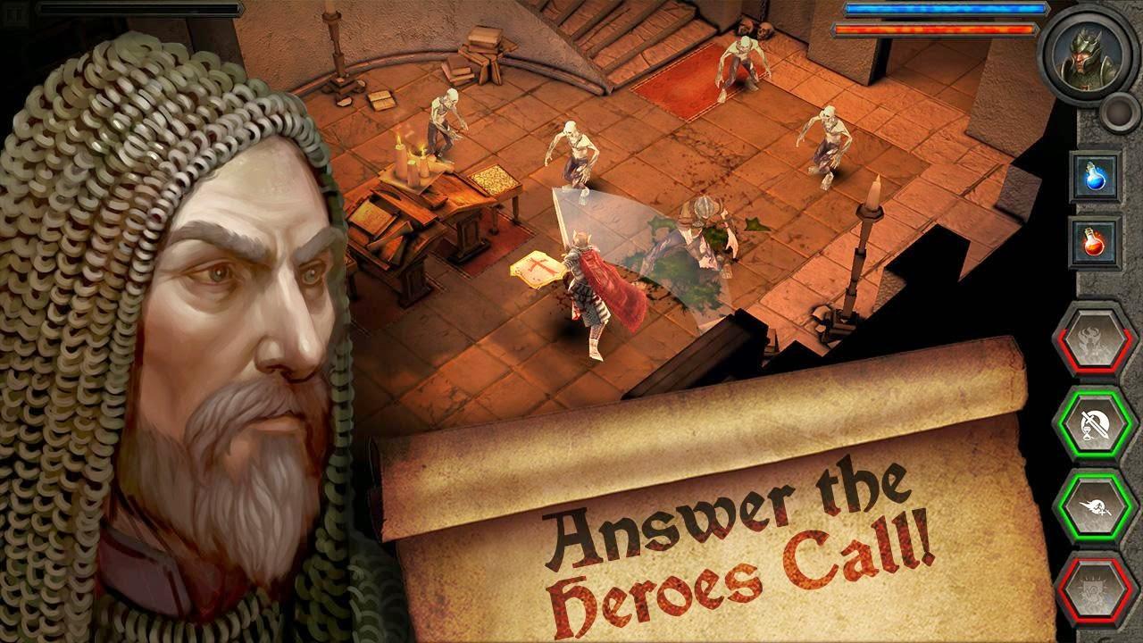 Heroes Call v1.2.1a Mod (Unlocked) APK