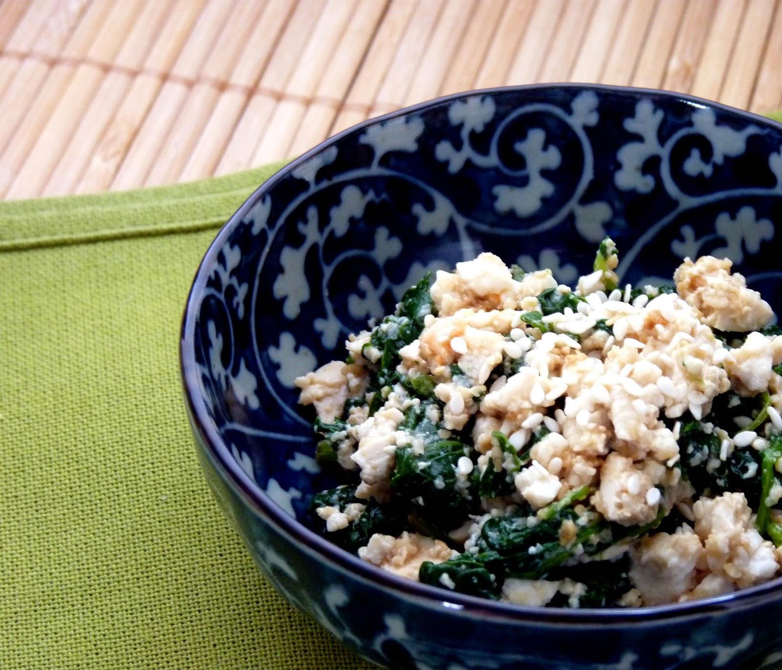 "Japanina's Food Corner: Spinach ""shira-ae""- Spinach ..."