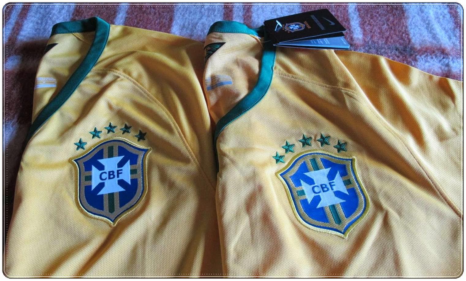 3fa724d16c Comprei no aliexpress  camiseta da seleção brasileira Copa 2014 ...