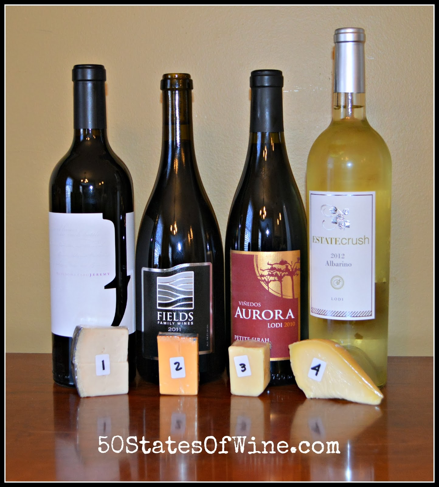 Lodi Wine and Cheese Virtual Tasting
