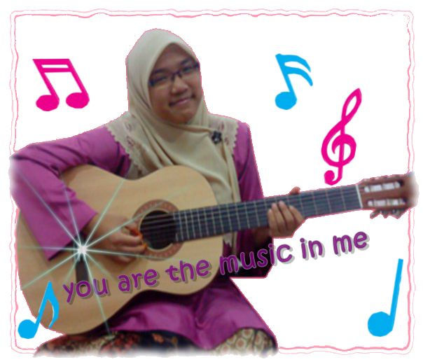 you are the music in me..