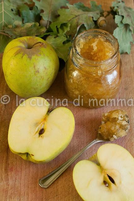 marmellata di mele e lemon grass con il metodo di  christine ferber...forse.