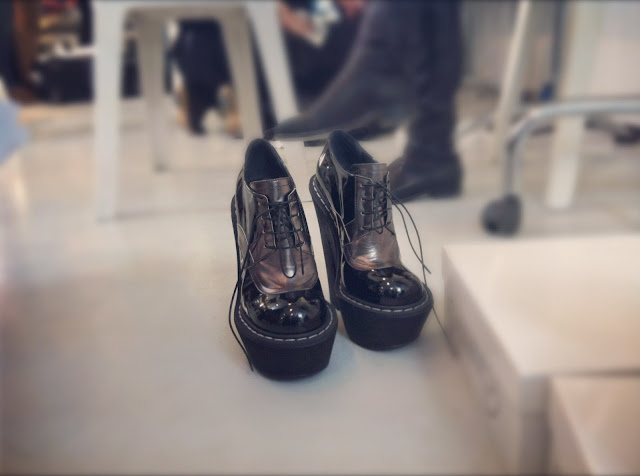 Sublime Compensated Shoes CORRADO DE BIASE FALL-WINTER 2012/13 BACKSTAGE PARIS FASHION WEEK READY-TO-WEAR