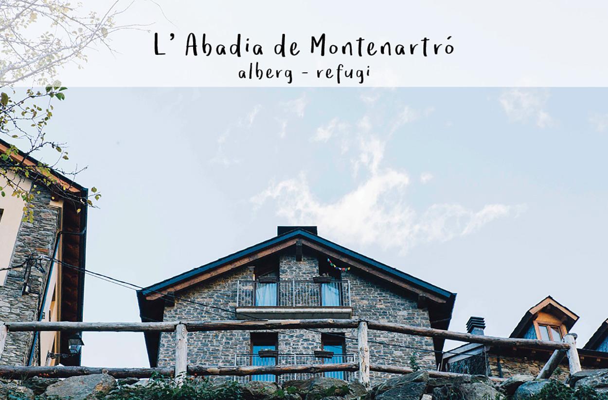 Refugi de Montenartró, L'ABADIA