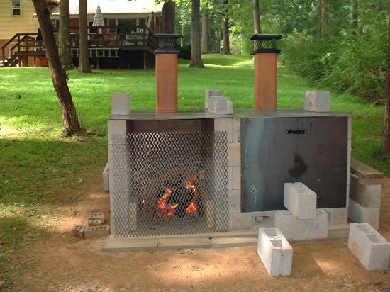 Brick Laminate Picture: Brick Grill Plans