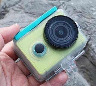 Xiaoyi Camera dengan waterproof mampu menyelam hingga kedalaman 40meter