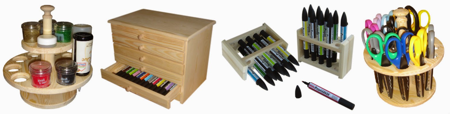 Some craft storage ideas from Creations By Rod