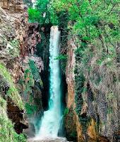 Cascada Cola de Caballo en el Parque Natural del Monasterio de Piedra