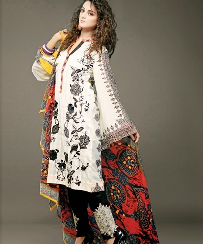 Nimsay Embroidered Lawn