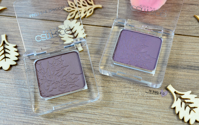 Catrice FALLosophy Review + Swatches Matt Eye Shadow