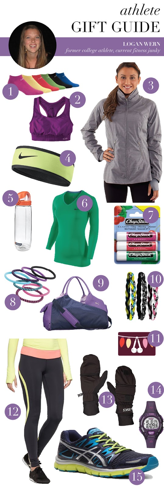 gift guide for the athlete (via Holly Would)