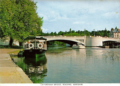 Caversham Bridge, Reading, Berkshire