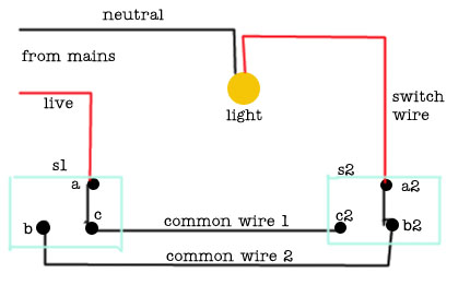 2 way switch wiring diagram 2 way wiring diagram 6 terminal 2 way switch wiring \u2022 free wiring stair light switch wiring diagram at bayanpartner.co