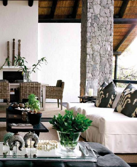 Inspira interi r etnisk stil for Interior designs south africa