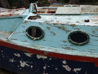 A boat on Waiheke Island