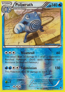 Poliwrath Furious Fists Pokemon Card