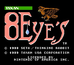 8 Eyes Title Screen