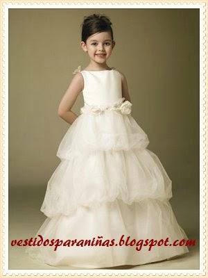 trajes para matrimonio para niñas