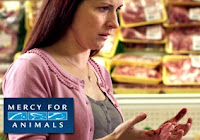 Comercias de TV colocam sangue nas mãos de quem consome produtos de origem animal