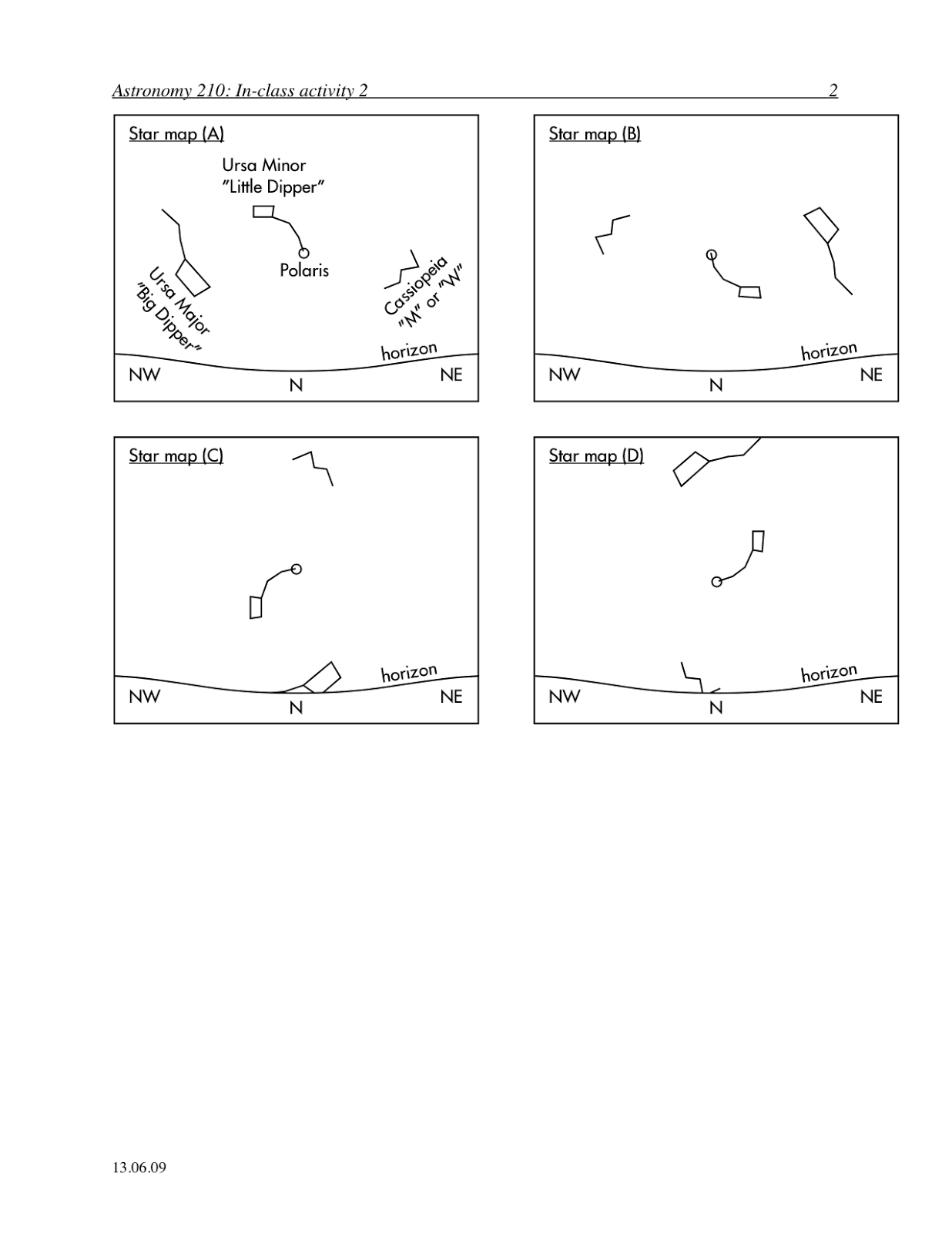 astronomy worksheets - photo #26