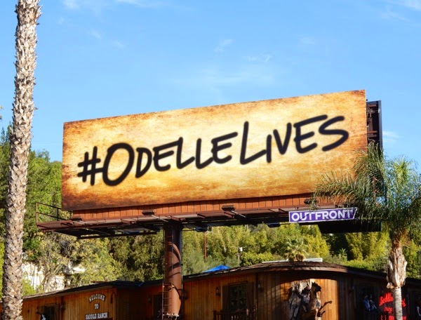 Odelle Lives billboard