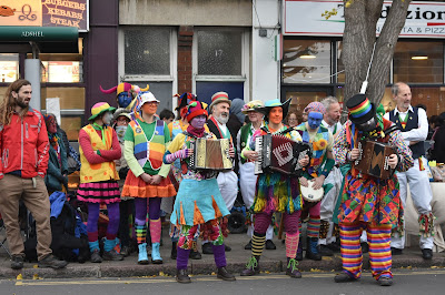 Gog Magog Molly band of musicians