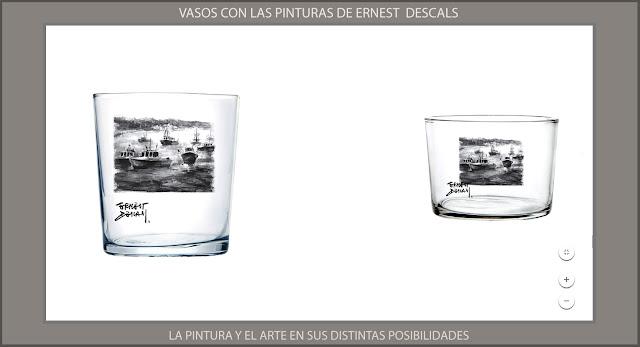 VASOS-PINTURAS-ARTISTA-PINTOR-ERNEST DESCALS-ARTE-PINTURA-COMPLEMENTOS-POSIBILIDADES-INICIATIVAS