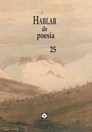 HABLAR DE POESIA