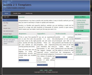 joomla 2.5 business templates