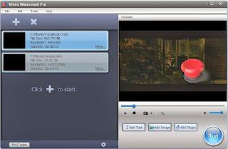 برنامج video watermark pro 3 للكتابة على الفيديو