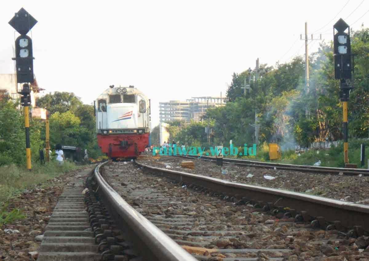 Gambar kereta api sarangan