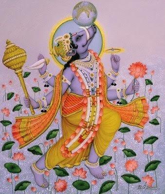 Varaha Avatar (the Boar)