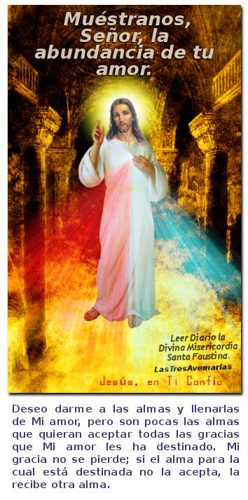 mensaje de la divina misericordia