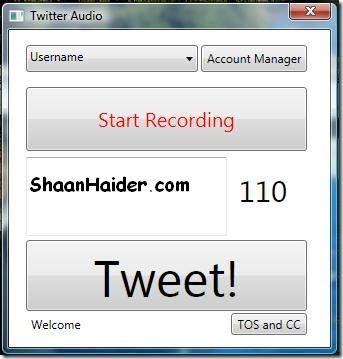 How to Send Audio Tweets