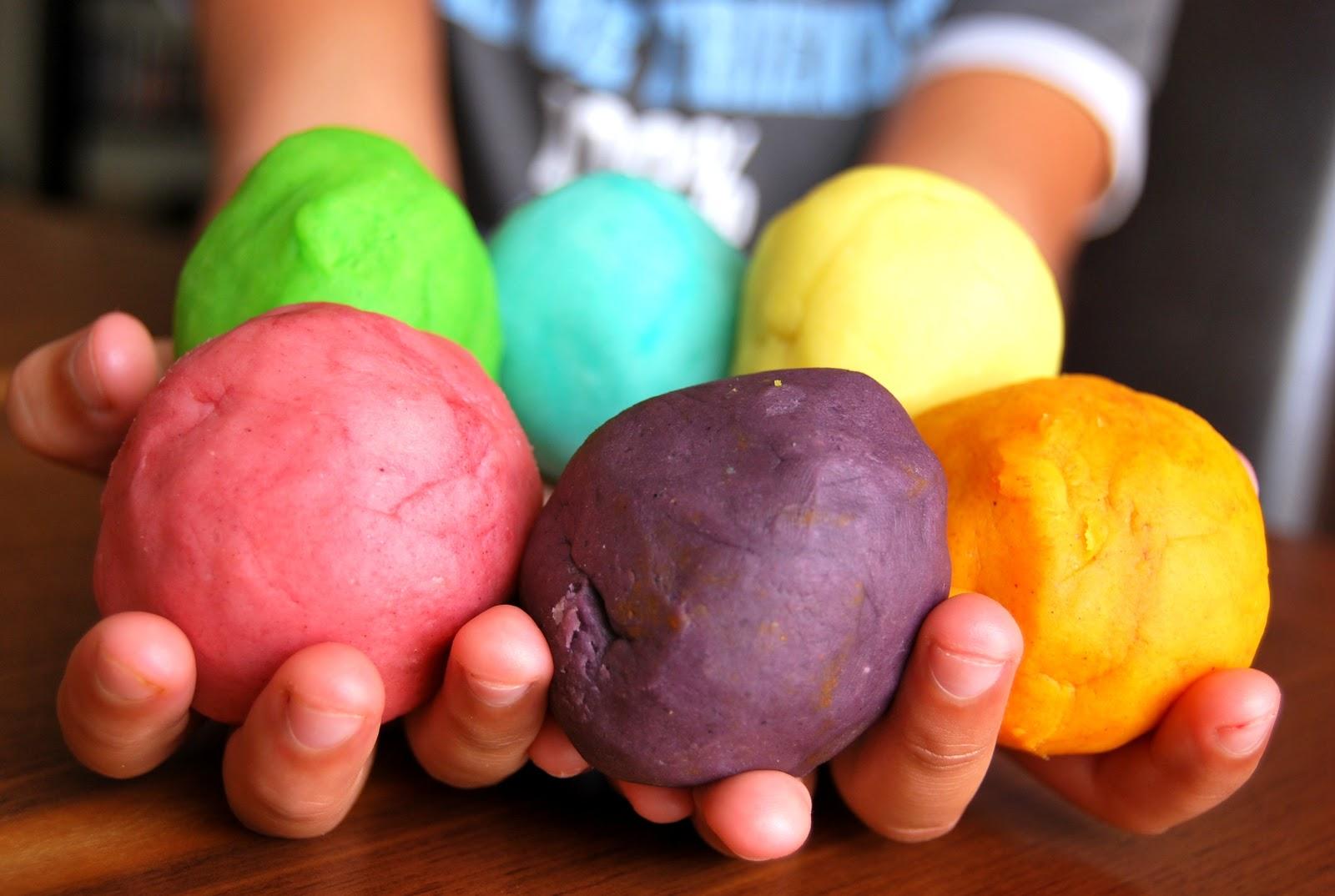 Le Grand Bazaar: La pâte à modeler homemade (Tuto inside) #billet récup#