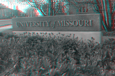 University of Missouri sign