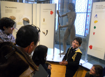 bambini al museo di storia naturale