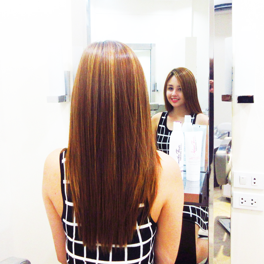 Girl About Town Piandre Salon The Road To Maintenance Free Hair