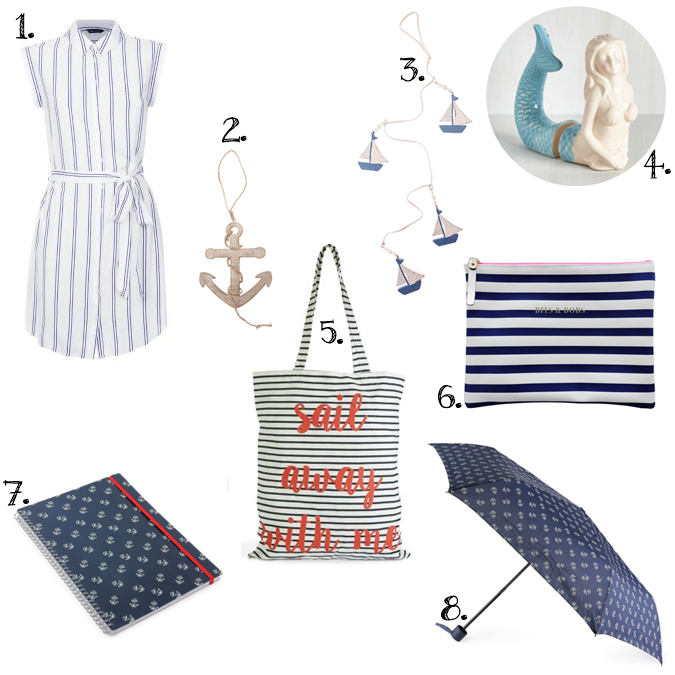 Nautical, boat, anchor, sailor, maritime wish list