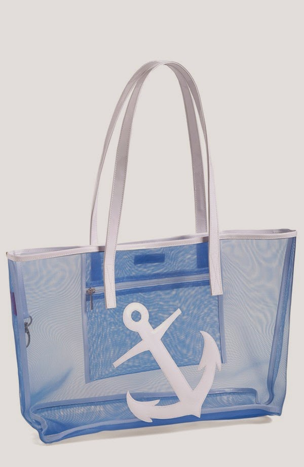 Lolo Amy mesh anchor tote