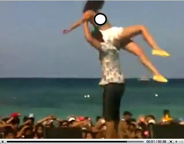 anne curtis scandal it s only a miss wear during her dance at boracay