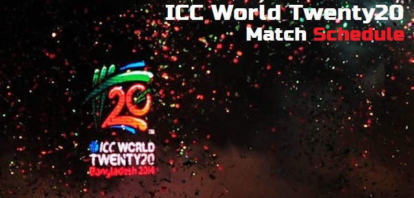 ICC T20 World Cup 2014 Schedule