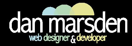 Dan Marsden Web Designer/Developer